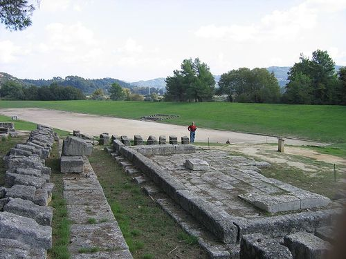 Stadium, Ancient Olympia, Greece
