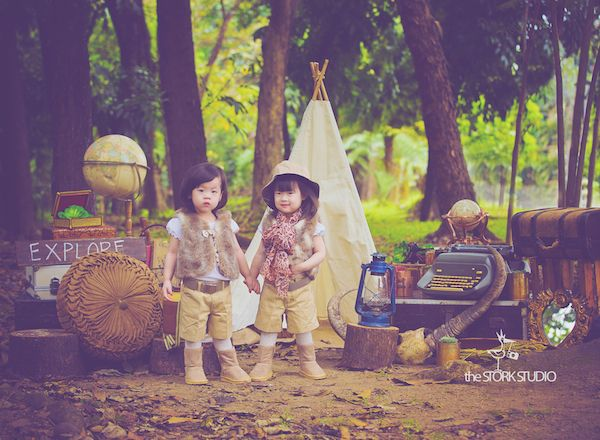 Little Explorers   http://babyandbreakfast.ph/2014/03/13/little-explorers/   Photographer: The Stork Studio   Stylist : She Dreams in Ink