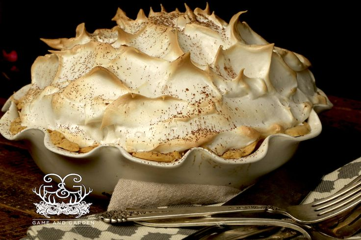 Grandmama's Chocolate Meringue Pie..recipe that would deliver results EVERY TIME..no more soggy crust, meringue separating from filling, beading on meringue