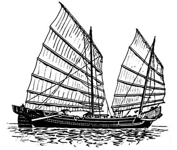 historic ship coloring pages - photo#24
