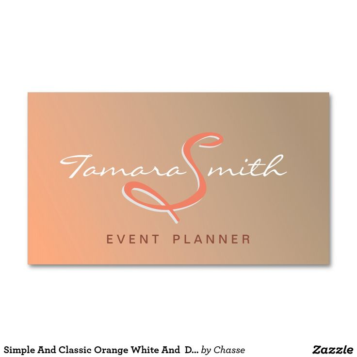 197 best Event Planner Business Card Templates images on Pinterest ...