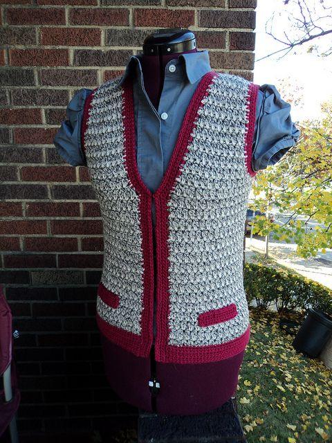 Ravelry: Keaton Vest pattern by Robyn Chachula