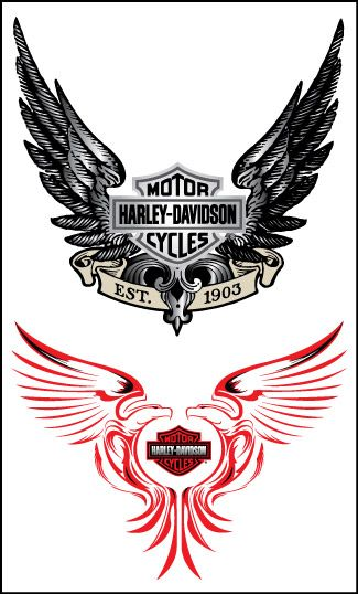 Harley Davidson Tattoo not quite YOUR tattoo but close!!!