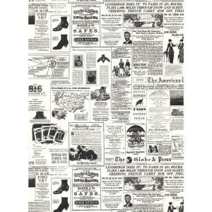 York Wallcoverings, 56 sq. ft. Headline News Wallpaper, KW7620 at The Home Depot - Mobile