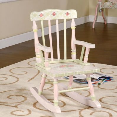 Pink Crackle Girls Rocking Chair   Incredible Bedroom, Play Room, And  Nursery Decor For Boys And Girls Rooms At Kids Decorating Ideas