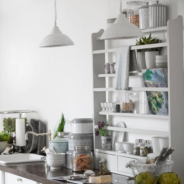 mood HOME boutique - Skandynawska półka kuchenna, biała