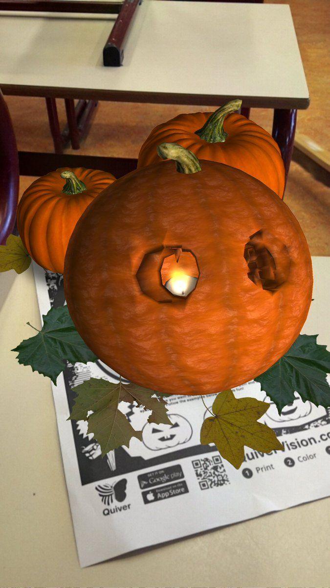 """Jeroen Smits on Twitter: """"Gaaf dat vlammetje IN die pompoen. #halloween #quivervision… """""""