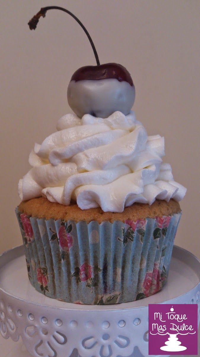 Mi Toque Mas Dulce: Receta de cupcakes de cereza