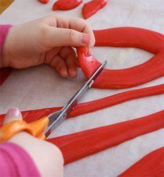 Homemade Kool aid Taffy .....  a fun holiday idea