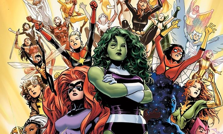 DC-Comics en Marvel hadden weinig/geen vrouwen als hoofpersonage in hun stripverhalen. Maar ze hebben via de site Mashable aangekondigd dat er meer en nieuwe vrouwelijke protagonisten in stripboeken zullen verschijnen.