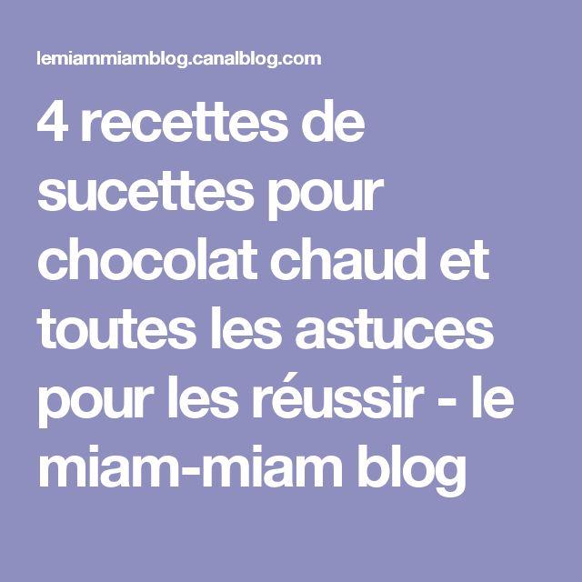 4 recettes de sucettes pour chocolat chaud et toutes les astuces pour les réussir - le miam-miam blog