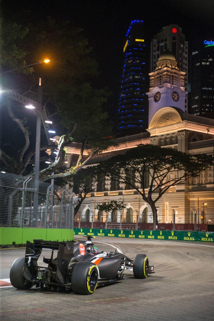 2014 Singapore Grand Prix. Sauber F1 Team