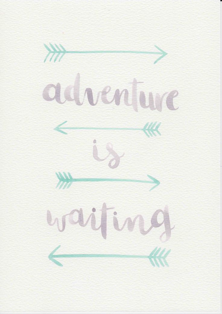 Adventure Quote, Purple Mint Nursery Art, Watercolor Painting, Purple Mint Kids Room, Nursery Print, Kids Room Decor, Boho Arrow Print by violetandalfie on Etsy