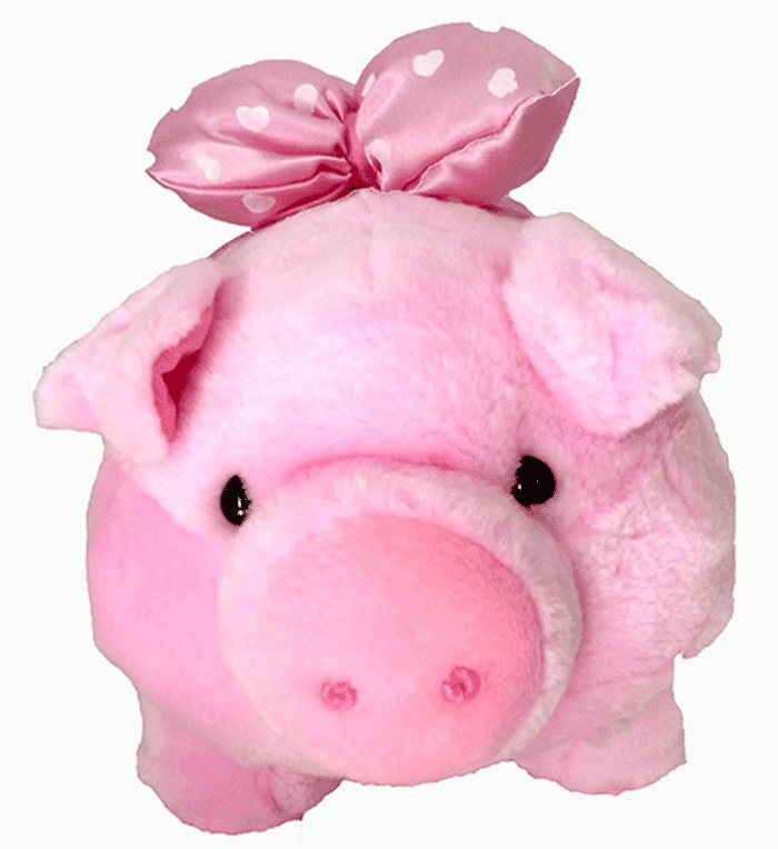 Pig Dolls, Material from vonel 10 mm, full dacron, Safe,Height 37 cm    http://bonekabandung.com  $20 #Dools #Kids #Shop