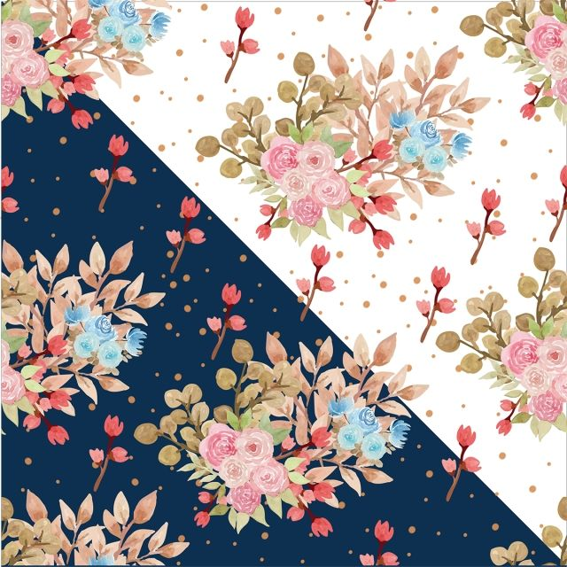 Watercolor Floral Seamless Pattern Seamless Nature Floral Png And Vector With Transparent Background For Free Download Flower Background Wallpaper Floral Watercolor Watercolor Floral Pattern
