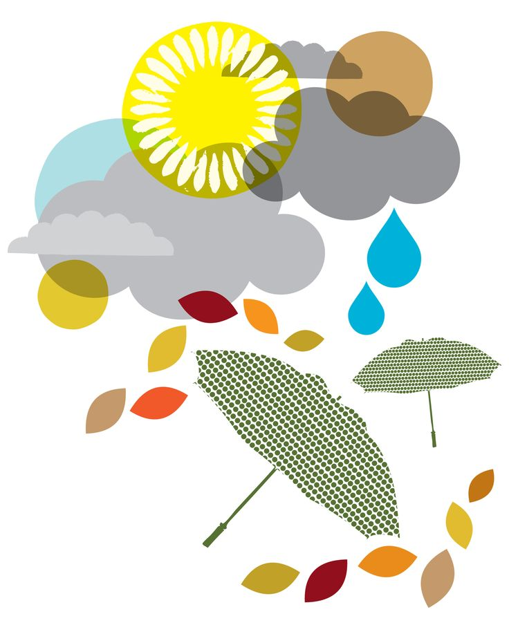 B7LivingMagazineIllustration.  The Weather- we could glue similar pictures