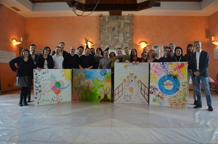 Action Painting Guala Closures SpA by Teambuilding Experience