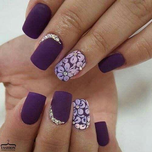 Proudly purple!