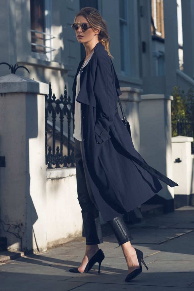 Trend report | Loose-Fit Trench Coats | @andwhatelse
