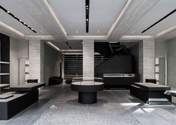 Alexander Wang Opens First European Flagship Store In London Interior Design MagazineRetail