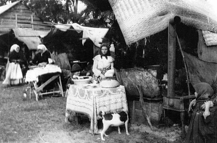 Lacikonyha, 1919.   Fotó: Haranghy György (Hortobágyi Nemzeti Park Fotótár)