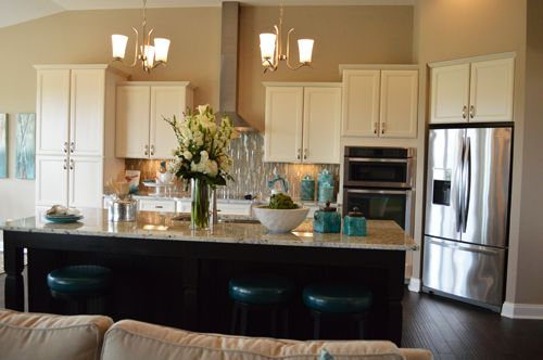 Morning room off kitchen google search home decor for Morning kitchen designs