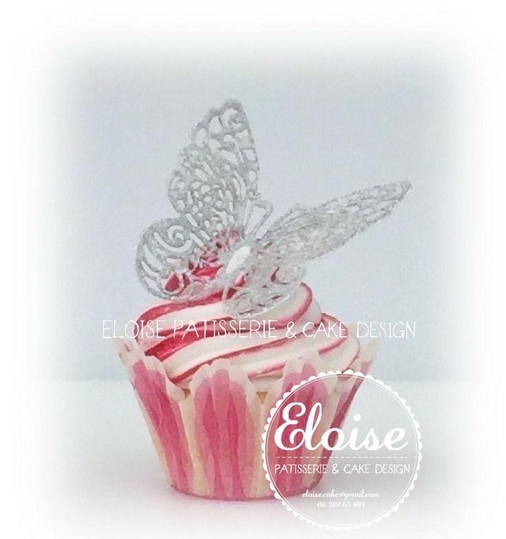 Cupcakes with butterflys  Cupcakes met vlinders  FB Eloise Patisserie & Cake design