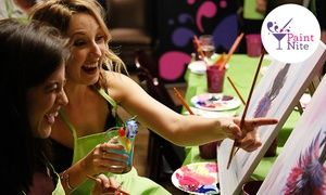 Groupon - Two-Hour Social Painting Event from Paint Nite (Up to 46% Off) in Salt Lake City. Groupon deal price: $25