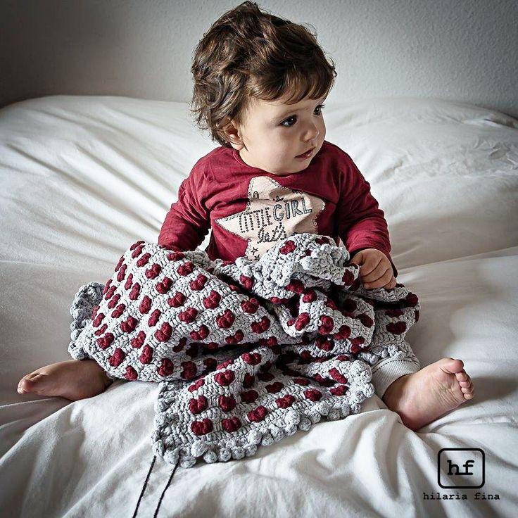 crochet ganchillo pattern patrón blanket manta isabel 2