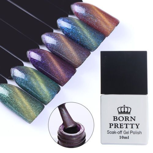10ml-Born-Pretty-Nail-Chameleon-Magnetic-Cat-Eye-UV-Gel-Polish-Nail-Art-Soak-Off