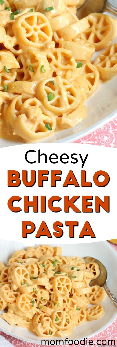 827 best comfort food recipes images on pinterest baking center cheesy buffalo chicken pasta easy recipe forumfinder Gallery