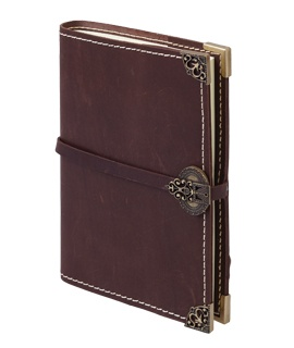 Florentine, Italian Medieval Refillable Leather Journal, $185, Shop 22, Level 2, QVB.