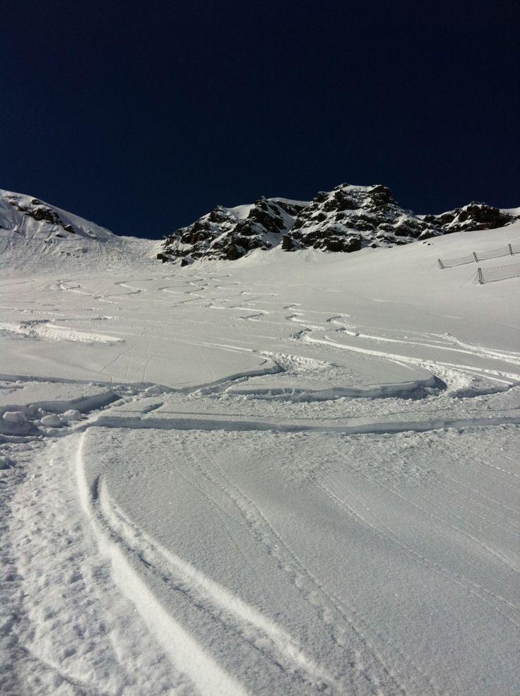 fresh tracks, perfect day
