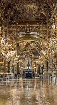 Grand Foyer ~ Le Palais Garnier ~ Paris, France