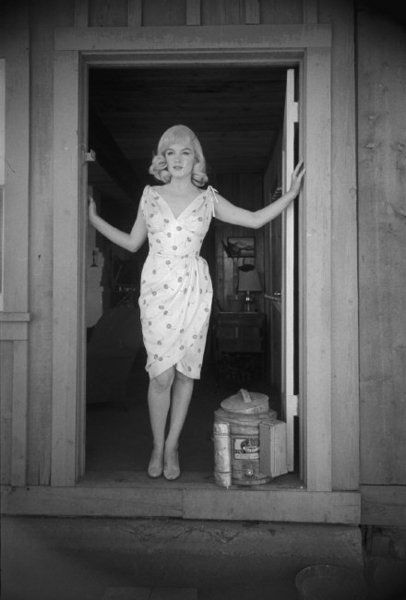 "Marilyn Monroe ""The Misfits"" Cherry Dress"