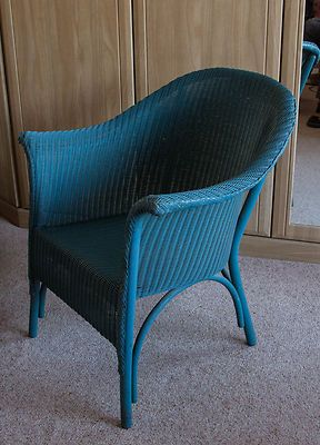 25 Genuine Lloyd Loom Lusty Chair with original label