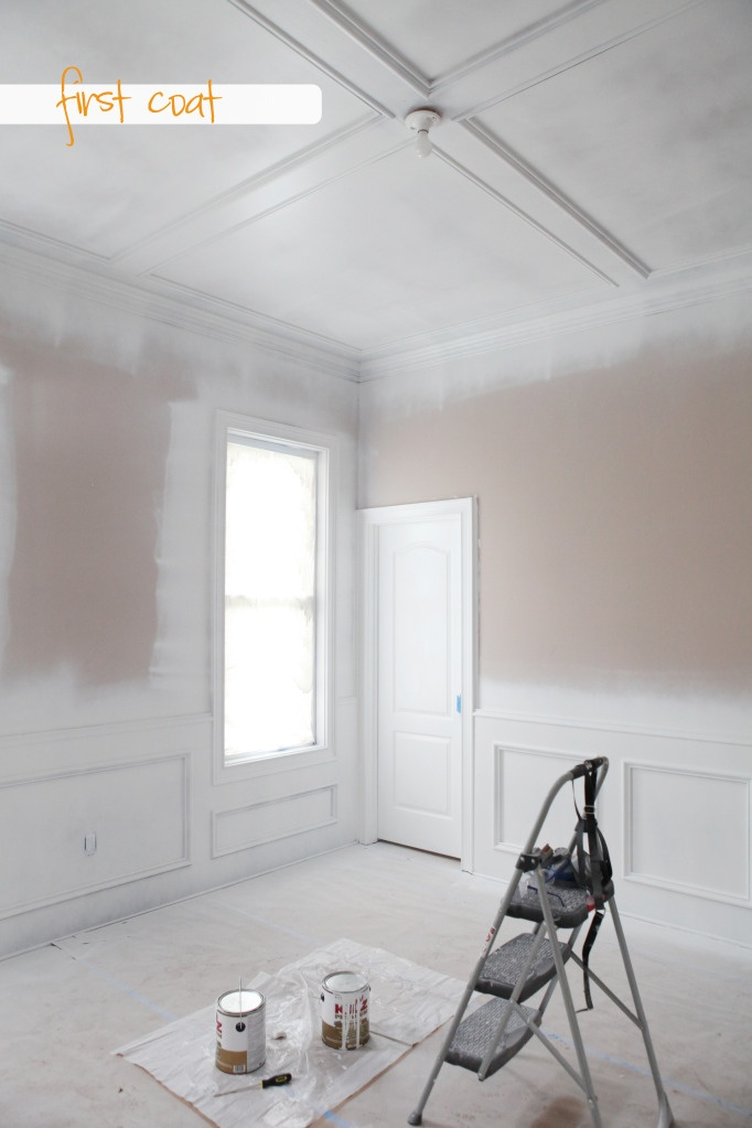 Spray Painting Walls And Ceilings