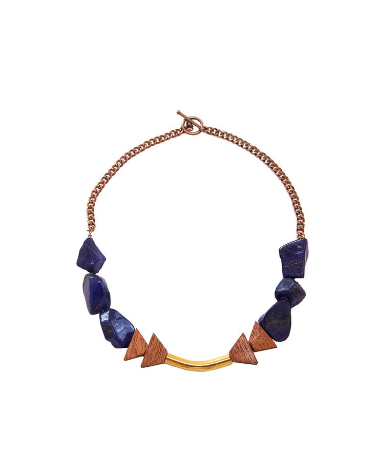 The Lapis Scale Necklace
