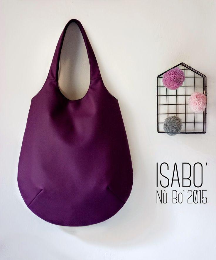 #ISABO' #NùBo' finta pelle Viola http://it.dawanda.com/shop/isabo-borse-in-stoffa