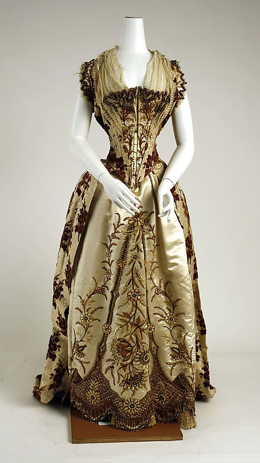 Ball gown -1887