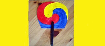 Korean Craft: Make a Traditional Sam Taeguk Fan