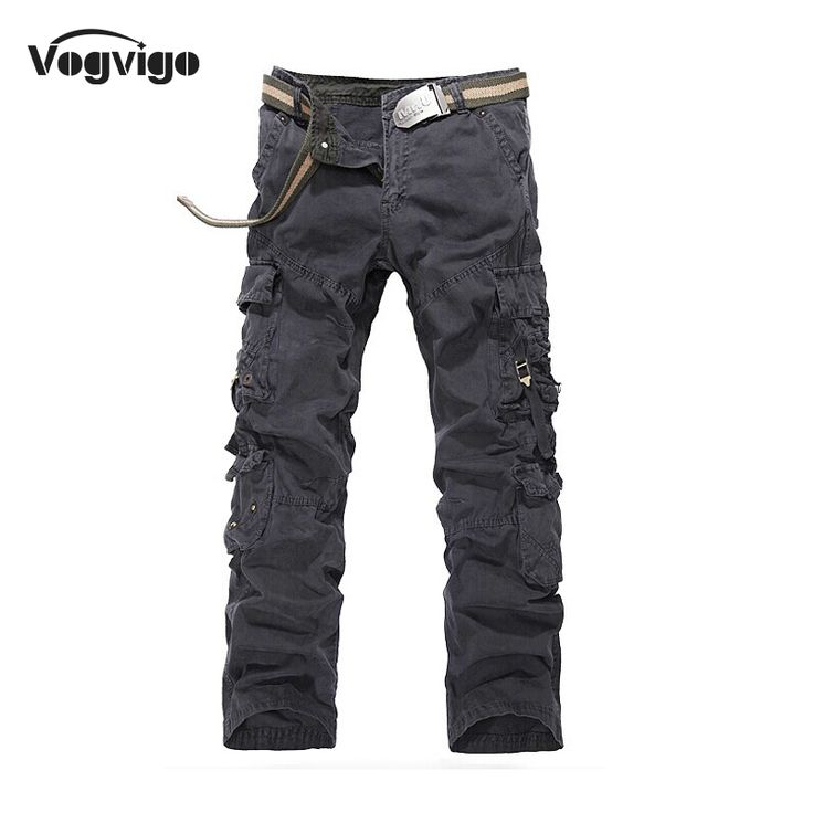 mens fashion casual VOGVIGO Brand Loose Casual Men Cargo Pants Fashion Cotton Multi-Pockets Design Male Overalls Men Casual Pants Large Size 3Colors <3 This is an AliExpress affiliate pin.  Find similar products on AliExpress website by clicking the VISIT button