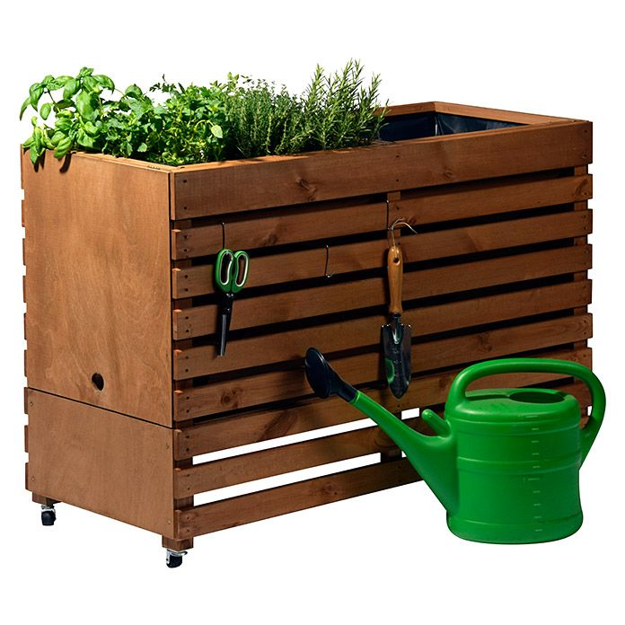 Dobar Hochbeet Rolling Garden Hochbeet Hochbeet Holz Pflanzkasten