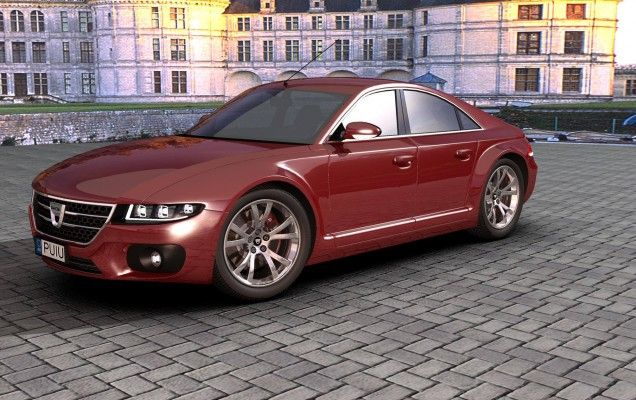 Dacia Logan Lux - Conceptul virtual produs de un român   Headline, Știri   AUTO…