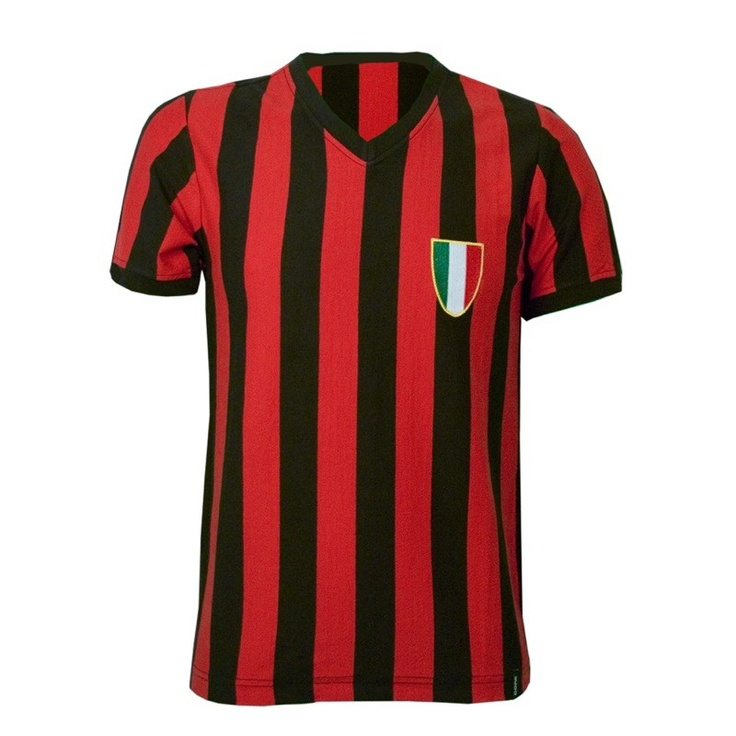 AC Milan football shirt 1960's