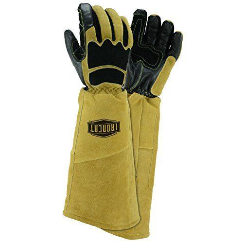 IRONCAT 9070 Premium Grain Goatskin and Split Cowhide Leather Stick Welding Gloves: X-Large, 1 Pair #IRONCAT #Premium #Grain #Goatskin #Split #Cowhide #Leather #Stick #Welding #Gloves: #Large, #Pair