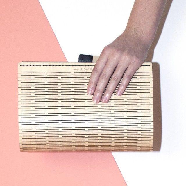 Plaat Clutch Handbag by Qoowl