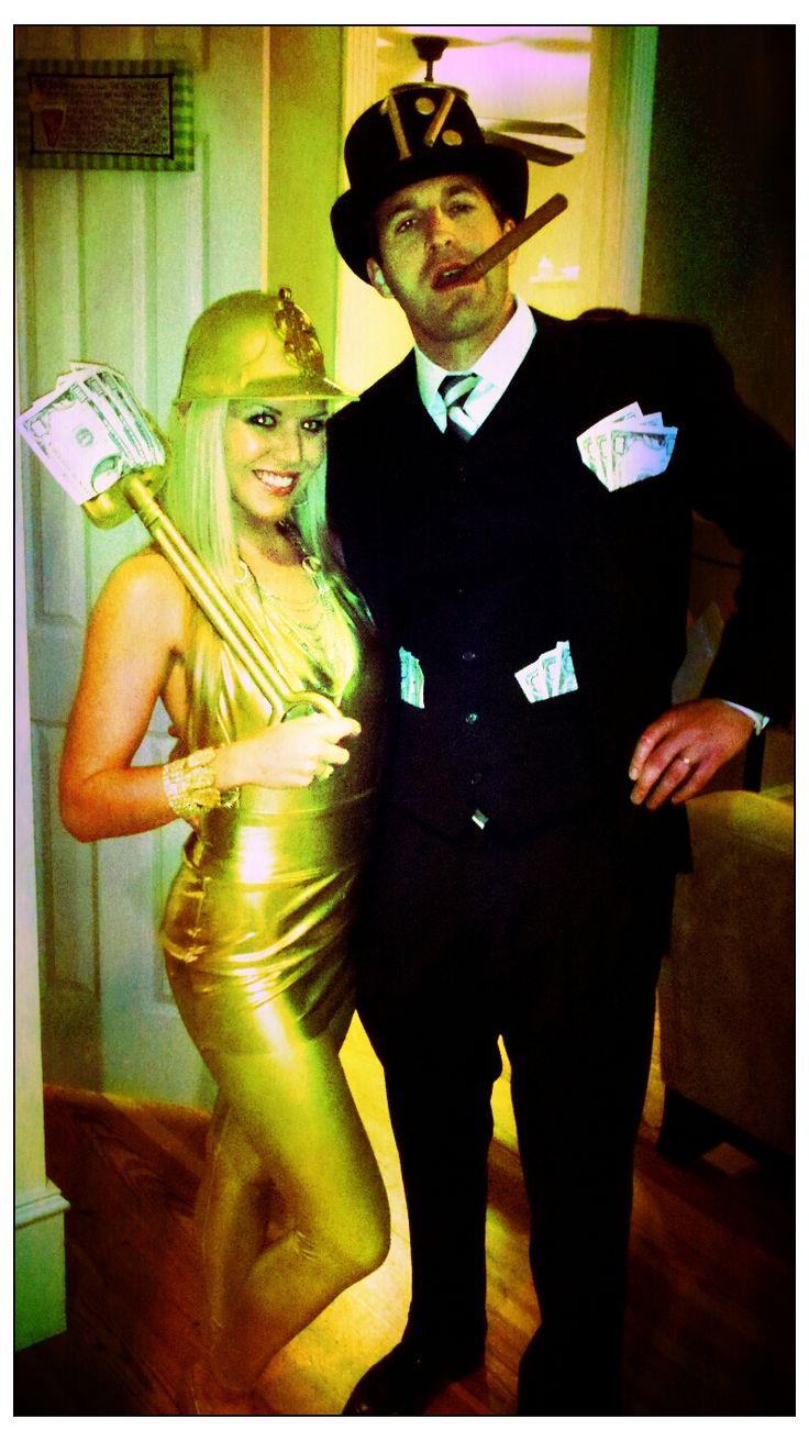 Millionaire and gold digger | Halloween | Pinterest | Dead ...