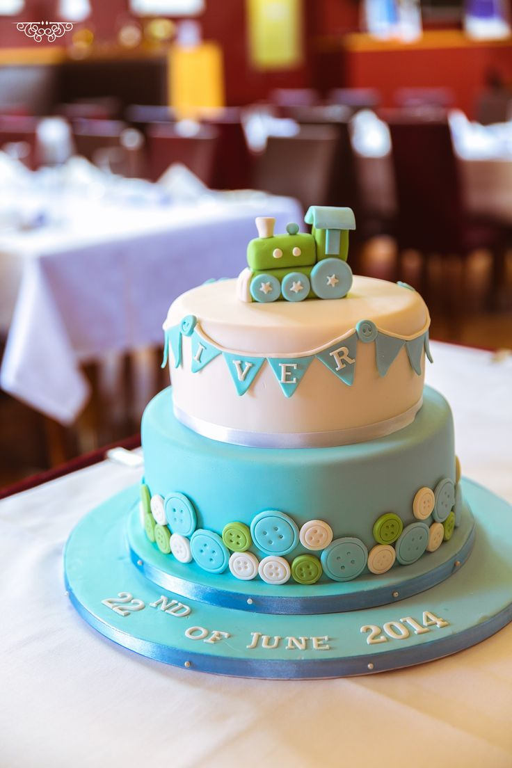 #Christening #Cakes for Boys #buttons
