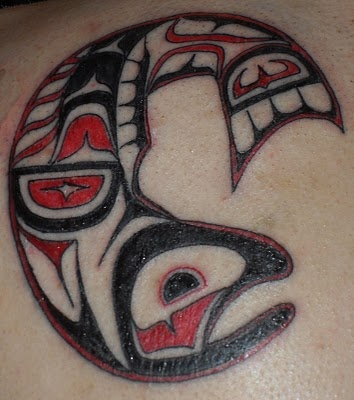 17 best ideas about salmon tattoo on pinterest haida art haida tattoo and native art. Black Bedroom Furniture Sets. Home Design Ideas